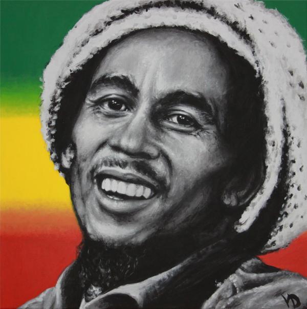 Bob Marley by gristricote